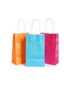 Бумажные пакеты с петлевой ручкой в Новороссийске и Краснодаре | Доступные цены | Градиент